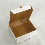 CAIXA PARA SALGADOS 24x24x5,5cm - Polibox Embalagens