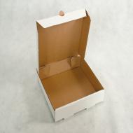 CAIXA PARA SALGADOS 25x25x5,5cm - Polibox Embalagens