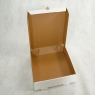 CAIXA PARA SALGADOS 30x30x5,5cm - Polibox Embalagens