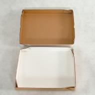 CAIXA PARA SALGADOS 31x31x6cm - Polibox Embalagens