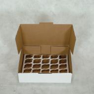 MINI CUPCAKE 26x26x10 cm  - Polibox Embalagens